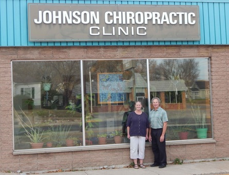 Johnson Chiropractic Store Front Detroit Lakes